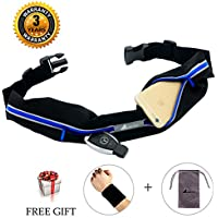 Best Running Belt Pocket Belt Waist Pack Pouch Waterproof...