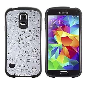 LASTONE PHONE CASE / Suave Silicona Caso Carcasa de Caucho Funda para Samsung Galaxy S5 SM-G900 / Wtaer glass