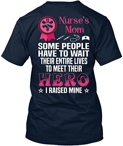 The Best Kind of Dad Raises a Nurse- Funny Nursing Gifts - Nurse Shirts for Women by TEEHAY