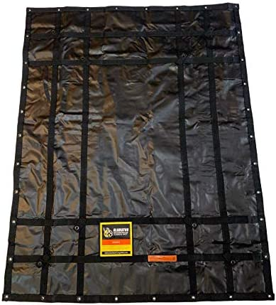Waterproof Gladiator Cargo Net- Heavy Duty Truck Cargo Net Tarp (Medium)