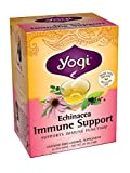 Yogi Teas Echinacea Immune Support, 16 Count (Pack of 6), Packaging May Vary