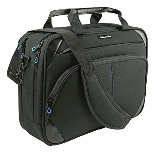 KROSER Briefcase Messenger Computer Men Black