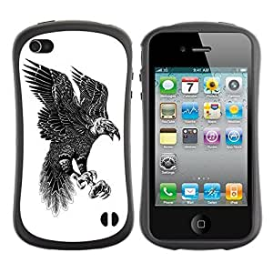 fashion Case for Apple iPhone 6 4.7 for kids / Beautiful Pattern Eagle Art