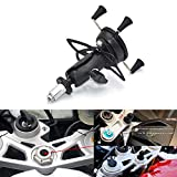 Mooreaxe Motorcycle Phone Camera Holder, Navigation Grips Bracket Adjustable For iPhone/Galaxy,Special For Yamaha R1 R6...