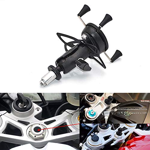 Mooreaxe Motorcycle Phone Camera Holder, Navigation Grips Bracket Adjustable For iPhone/Galaxy,Special For Yamaha R1 R6 BMW S1000RR Honda F5 CBR650F VFR1200 (Best Sport Motorcycle 2019)