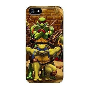 diy zhengHigh Grade MXcases Flexible Tpu Case For iphone 5/5s// - Teenage Mutant Ninja Turtles