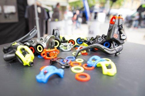 Magura Bremszange Blenden-kit, blau, neonrot, Neongelb, 6 St/ü ck EAGEJ|#Magura 2701239