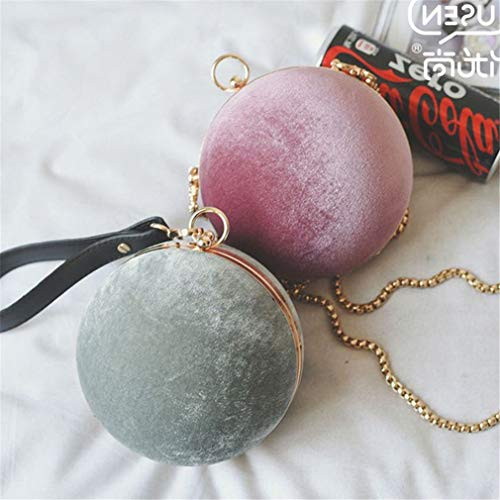 Bag Best Pink Bridal Bag Beaded Purse Women's Clutch Wedding Tellurion Wrist Black1 Ball Diamond Evening Price Handbag Round xZvxBUqSw