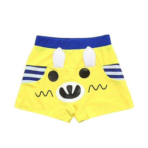 Toddler Kids Swim Trunks Ropa De BañO Para NiñOs Pantalones Cortos De Dibujos Animados Impermeable De