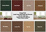 Koeckritz Level Loop Power Point Area Rugs - Click For Size and Color Options. (5' Round, Country Way)