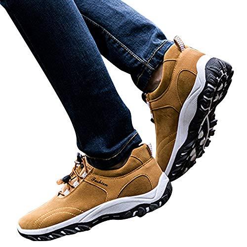 Sneakers Hombre Libre Zapatillas Aire Senderismo Al Casual bbestseller Running Para Hombre Invierno Marrón De Fitness 4gzXx7