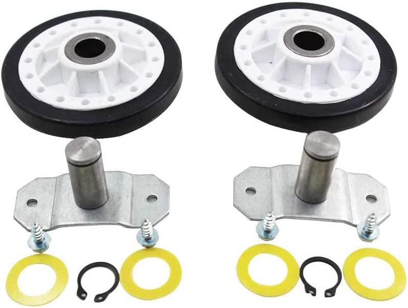 Rear Drum Support Roller Kit for LA-1008 Maytag, Amana,Whirlpool Dryer Replaces LA1008, PS2162268, AP4242491,31001096, WP31001096