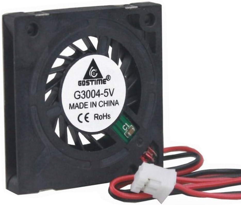 1x DC Brushless Ventilateur Refroidissement 5V 4510s 45x45x10mm 3 Pin CNC Fan AF