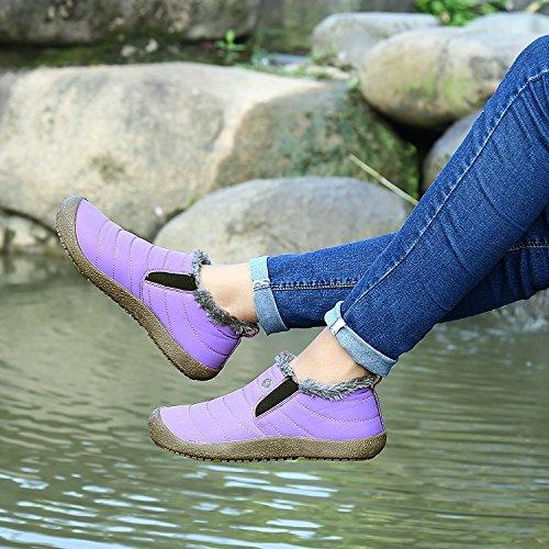 B Correr Cu Minetom a Aire Pantalones Cierre Primavera Deportes Botas Mujer Running Libre Calentar Zapatos Zapatillas En Monta Violeta as wIrUq18cI