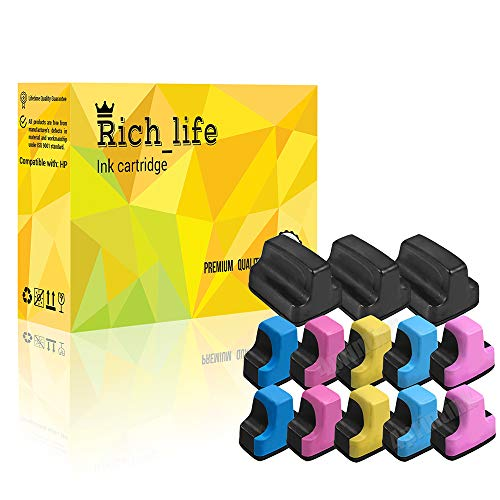 13 Pack 02 Ink Cartridge for HP Photosmart C7280 3310 D7360 D7160 C5180 8250 ()