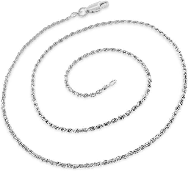 FREE Microfiber Cloth 925 Italian Sterling Silver 1mm Giorgio Bergamo Yellow Gold Plated Square Box Link Chain Necklace 16-30 5.5mm Solid Franco Chain
