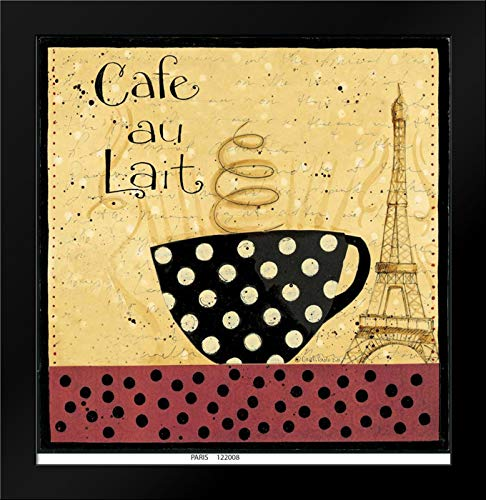 Cafe Au Lait Framed Art Print by DiPaolo, Dan