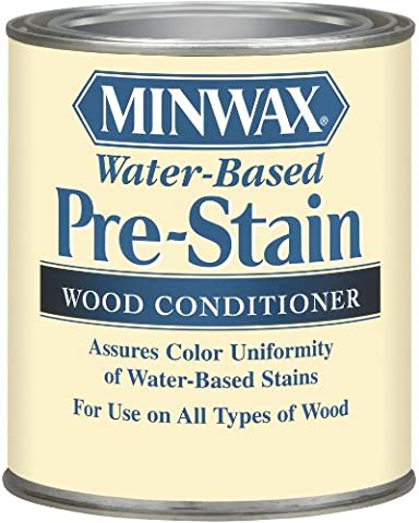 Minwax 61850 1 Quart Water-Based Pre-Stain Wood Conditioner (Pre Stain Conditioner)