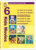 water babies dvd - MGM Movie Collection - Six Kids Movies (All Dogs Go to Heaven / All Dogs Go to Heaven 2 / The Adventures of the American Rabbit / The Secret of NIMH / The Secret of NIMH 2 / The Waterbabies)