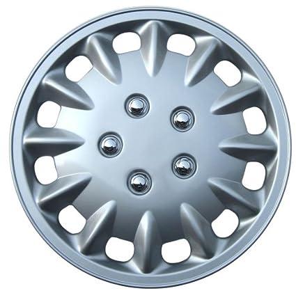 Honda Accord Drive Accessories KT-860-13S//L Set of 4 13 Silver Replica Wheel Cover,