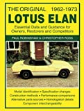 img - for The Original Lotus Elan 1962-1973: Essental Data and Guidance for Owners, Restorers and Competitors book / textbook / text book