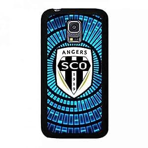 Custom Angers Sporting Club De L'Ouest FC Logo Phone Funda,Famous Angers SCO Futball Team Logo Phone Skin Snap On Samsung Galaxy S5Mini