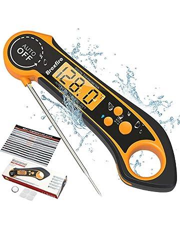 term/ómetro de cocci/ón Dail para BBQ Home para Hornear Cocina Term/ómetro de Horno term/ómetro de Parrilla de Acero Inoxidable