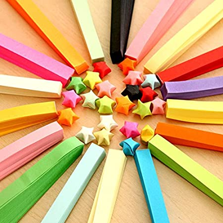 3//5//7//10mmx39cm 260 Strips for Arts and Crafts Projects 26 Colors Hosaire Paper Quilling Strips 39cm5mm
