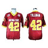 WEENKS Men's Arizona State Sun Devils 42 Pat Tillman College Football Jersey