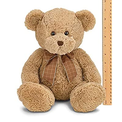 Bearington Bensen Brown Plush Stuffed Animal Teddy Bear, 16 inches: Toys & Games