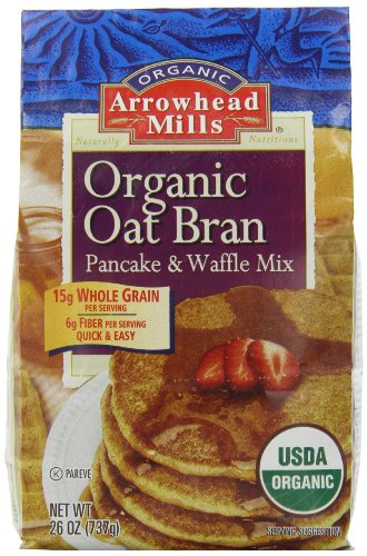 Arrowhead Mills Organic Oat Bran Pancake & Waffle Mix, 26 Ounce (Pack of - Honey Wheat Bread Recipe
