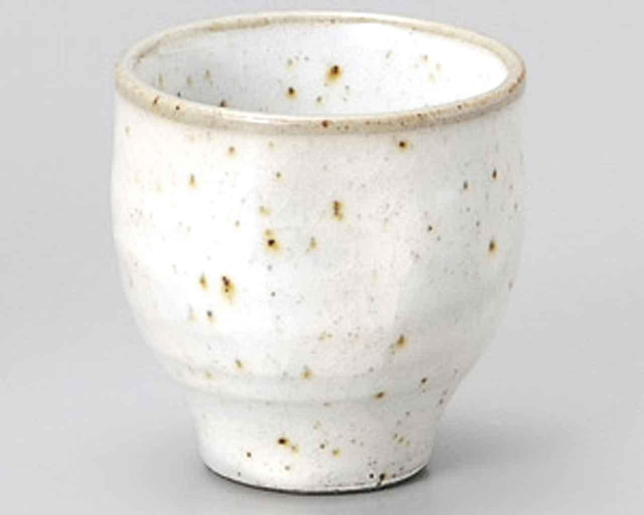 Kobiki Blue 2.4inch Set of 2 Sake Cups White Ceramic Made in Japan watou.asia
