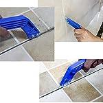 3 pezzi ad angolo stucco per sega a mano per piastrelle, strumento di rimozione della malta con 12 lame diamantate per…
