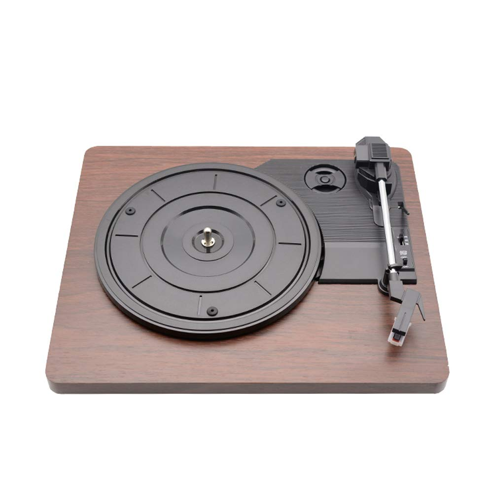 Festnight Retro Tocadiscos 33 RPM Antiguo Grammophon Tocadiscos de ...
