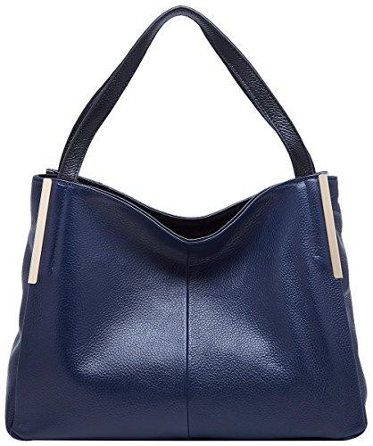 fourre tout les Sacs pour dames mode bandoulière BOYATU Sac sac Noir en Womens Bleu main cuir à à PW6qFp