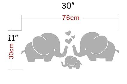 boodecal elefante Series dibujos animados, diseño de familia de elefantes vinilo de burbujas de forma