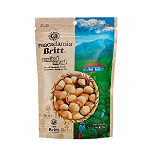 100% Premier Whole Gourmet Unsalted Macadamia nuts from Costa Rica by Cafe Britt