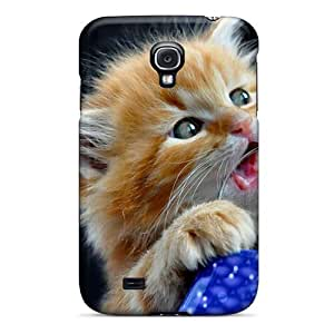 Anti-scratch And Shatterproof I Eat Handle W Phone Case For Galaxy S4/ High Quality Tpu Case