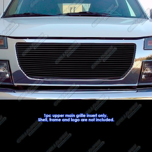 APS G85474H Black Powder Coated Grille Replacement for select GMC Canyon Models ()