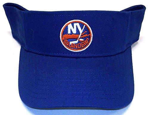 New York Islanders Basic Logo Velcro Strap Reebok Visor - W226Z - New York Islanders Visor