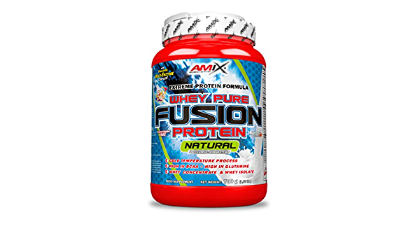 Amix Whey Pure Fusion 700 Gr Natural 700 g: Amazon.es: Salud ...