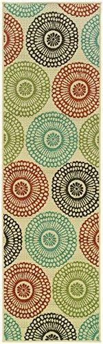 Oriental Weavers Montego 697J Area Rug, 2-Feet 3-Inch by 7-Feet 6-Inch