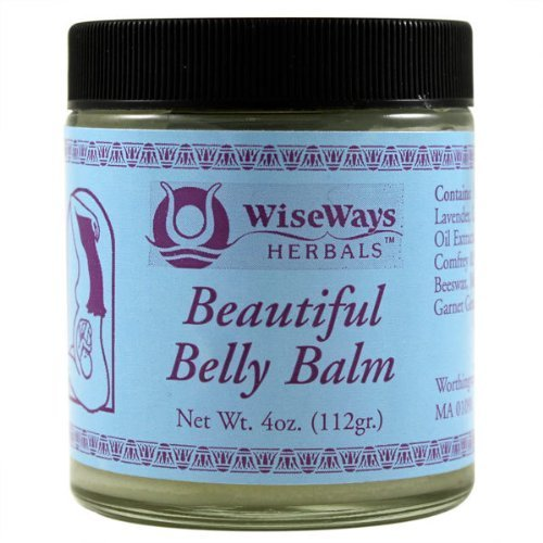 WiseWays Herbals Beautiful Belly Balm 4 oz