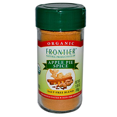 Frontier Natural Products, Organic, Apple Pie Spice, Salt-Free - Apple Pie Spice Mix