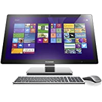 Lenovo A740 27-Inch All-in-One Touchscreen Desktop (F0AM004KUS) Silver Grey (Discontinued by Manufacturer)