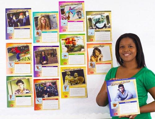 Influential Hispanics Bulletin Board Set (Heritage Office Set)