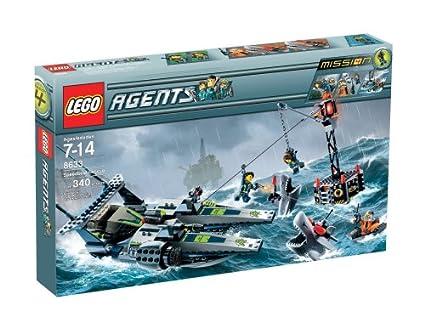 Amazon.com: LEGO Agents Speedboat Rescue: Toys & Games