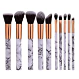 Best Affordable Makeups - Marble Brush Set by My Makeup Brush Set Review