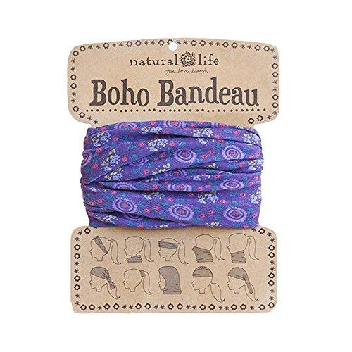 Natural Life Boho Bandeau Pattern, Purple