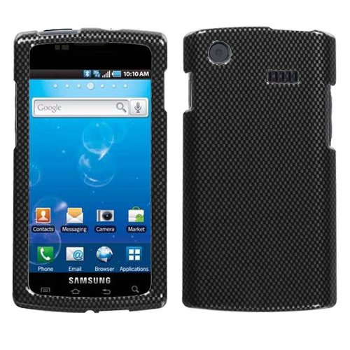 Carbon Fiber Phone Protector Faceplate Cover For SAMSUNG i897(Captivate) (Carbon Fiber Faceplate Protector)